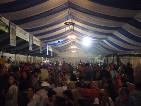 lume dansand, muzica, festivalul berii, Braşov