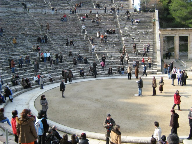teatru antic grescesc