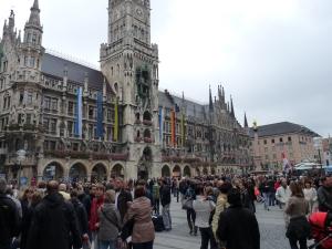 Primaria din Munchen, cladire neogotica
