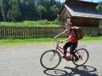scolar, biciclist