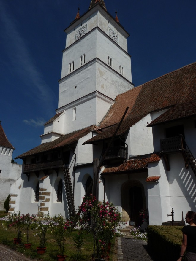 biserică fortificată, Hărman, Braşov