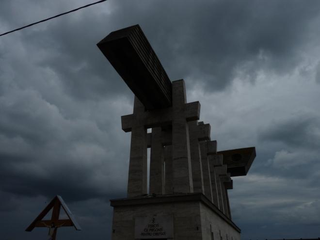 Crucea suferinţei româneşti, Râpa Robilor, Aiud, Alba