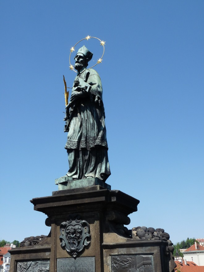 Jan Nepomucký, Podul Carol