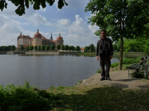 Schloss Moritzburg ... pe fundal!