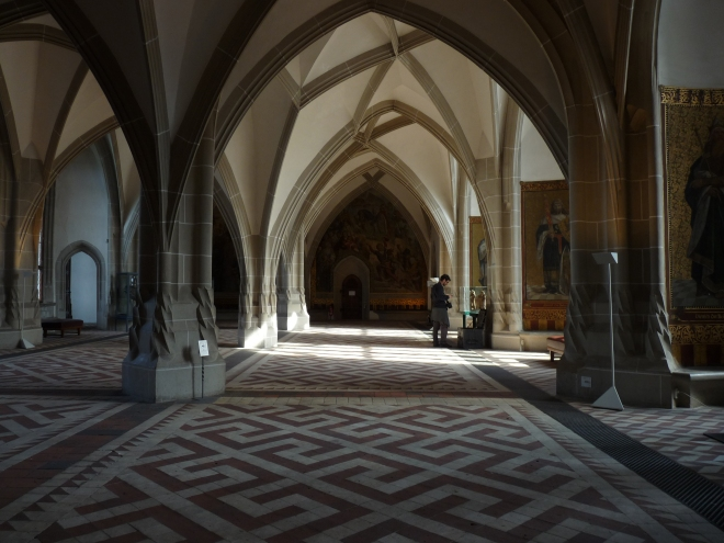 die Große Halle, Albrechtsburg, Meissen