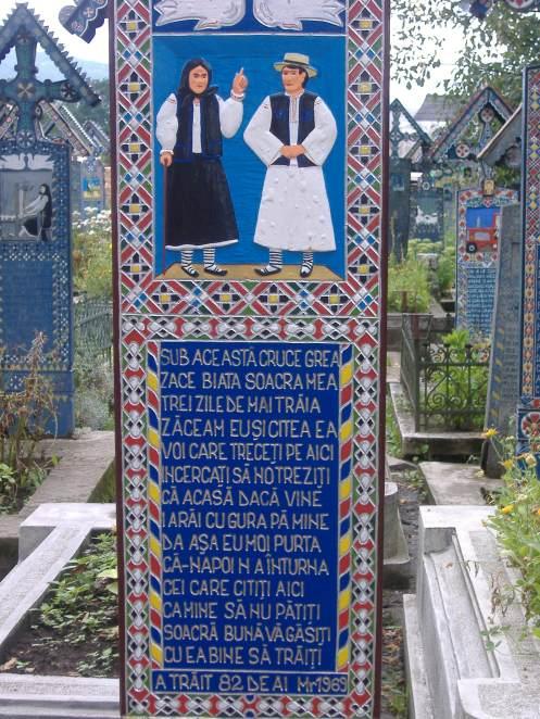Cimitirul Vesel, Săpînţa, Maramureş