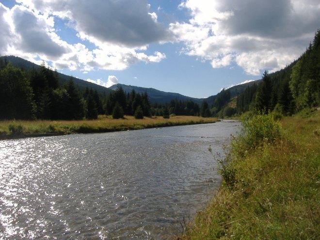 Râul BIstriţa, Pasul Prislop, Maramureş