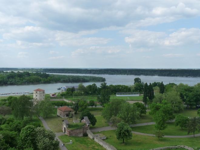 confluența Savei cu Dunărea